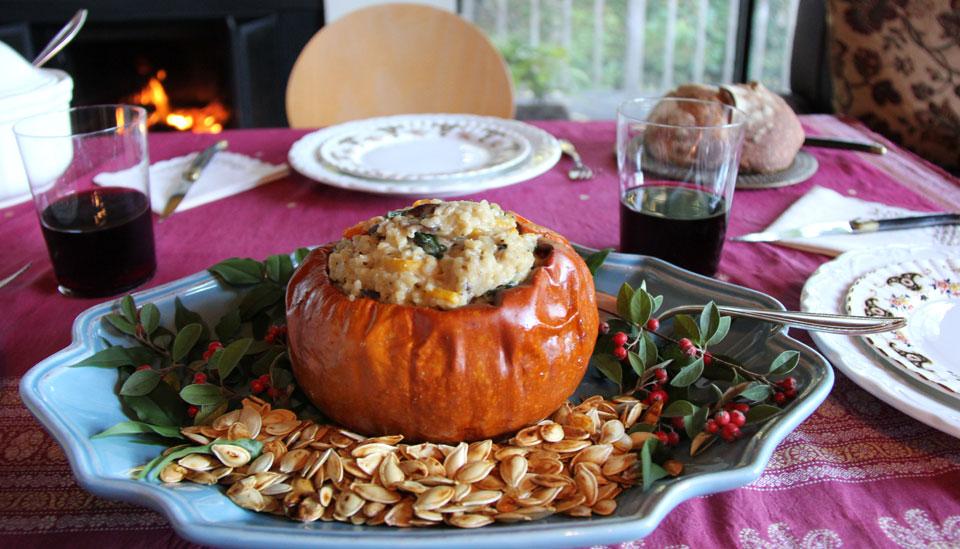 Gourmet Vegetarian Holiday with Deborah Madison