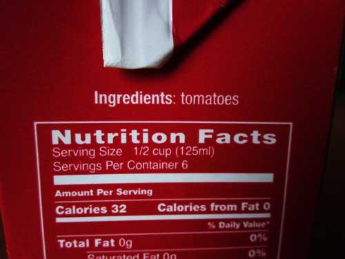 Single ingredient processed foods