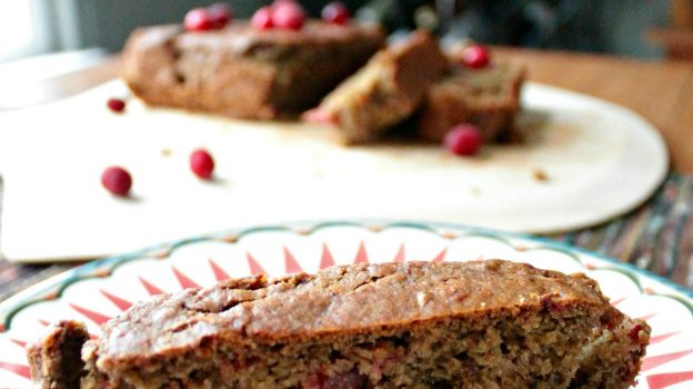 Holiday Leftovers: Vegan Cranberry Quickbread
