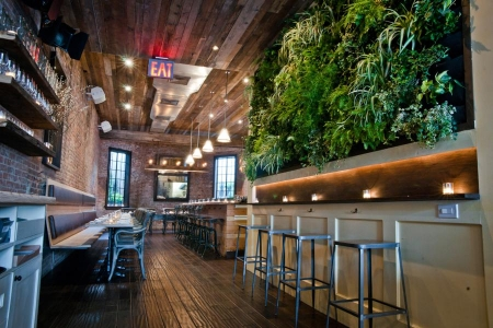 sustainable restaurants colonie nyc