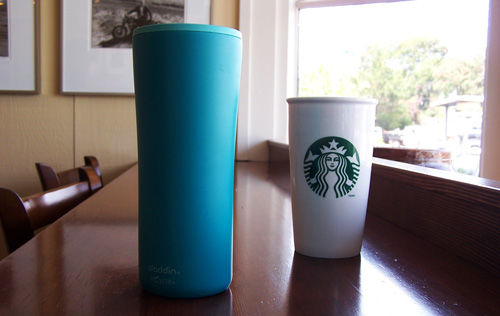Waste-Free Lifestyle: Reusable Travel Coffee & Tea Mugs