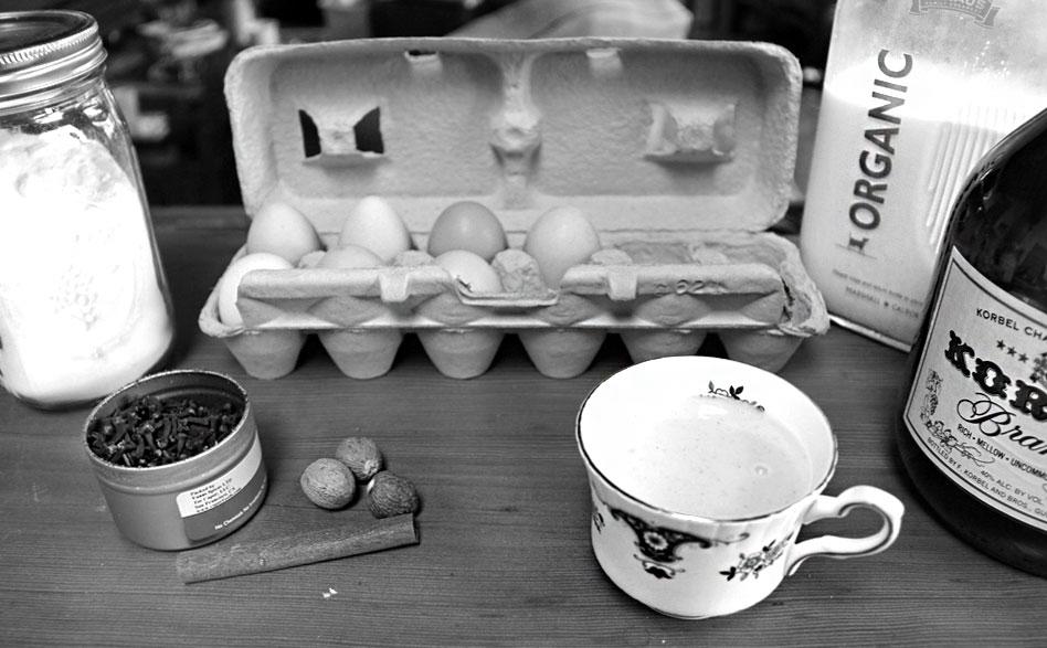 Is eggnog a seasonal food?