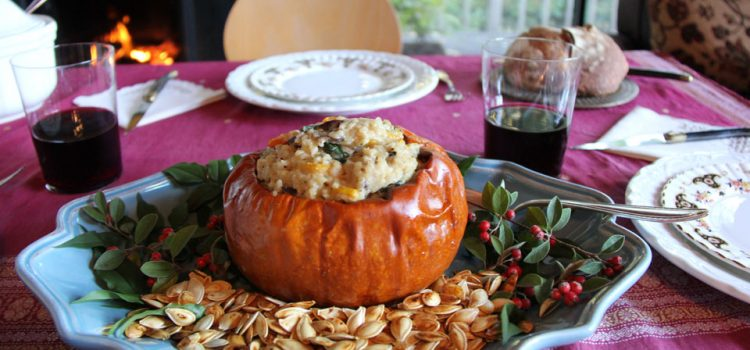 A Gourmet Vegetarian Holiday with Deborah Madison