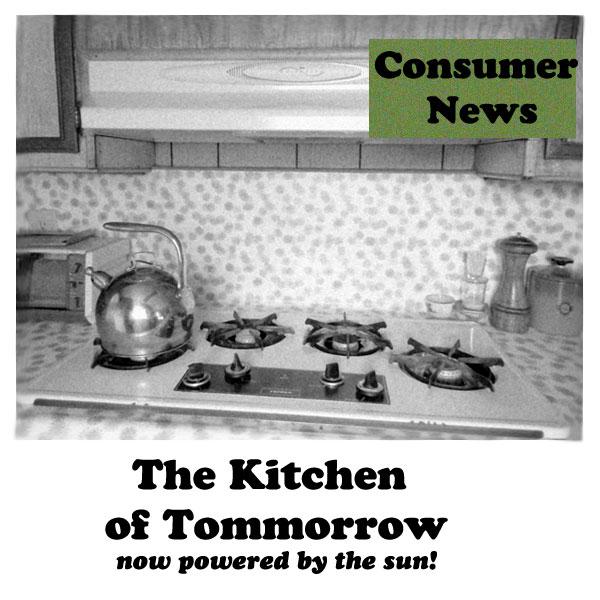 Solar Powered Kitchen