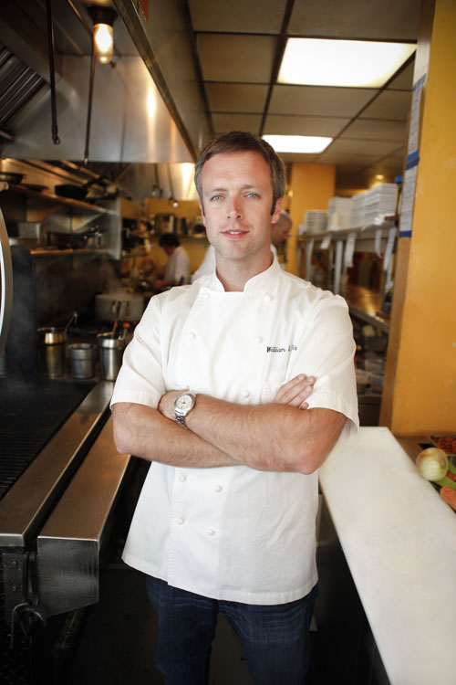 Chef William Dissen of Market Place Restaurant
