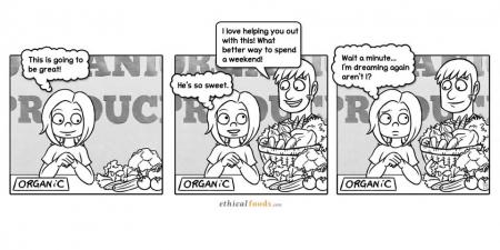 EF Comic: Farmers' Market Romance