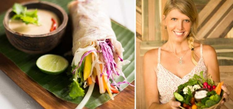 Shanti Allen of Alchemy Bali Raw Vegan Restaurant