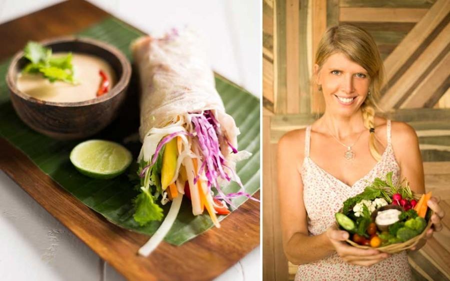 Alchemy Raw Vegan Restaurant Ubud Bali