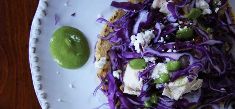Cooking From Scratch: Cilantro Lime Sauce