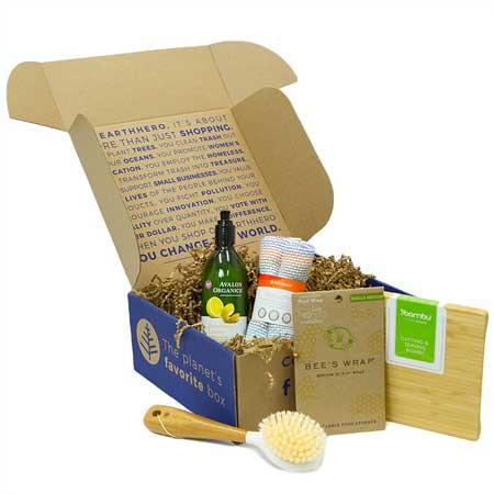 sustainable gift box ideas