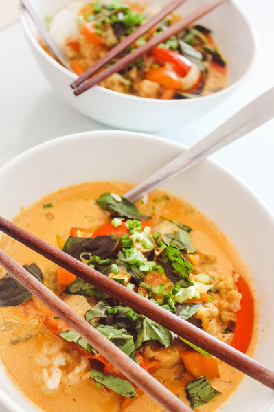 Easy Thai Red Curry Recipe